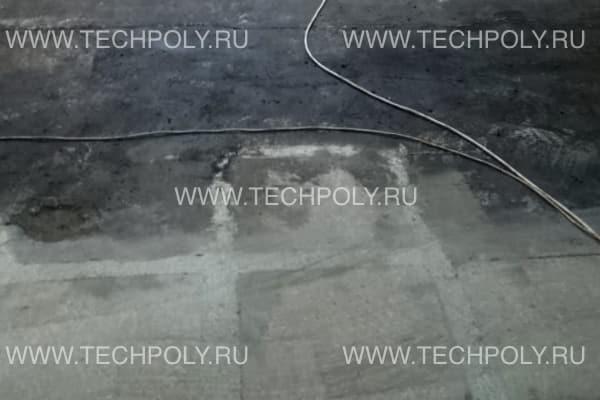 Очистка бетона от битума шлифовкой